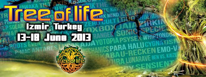Blåa hjärtan från Tree of Life & SUN Festival