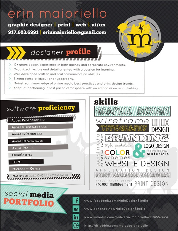 03 Creative CV