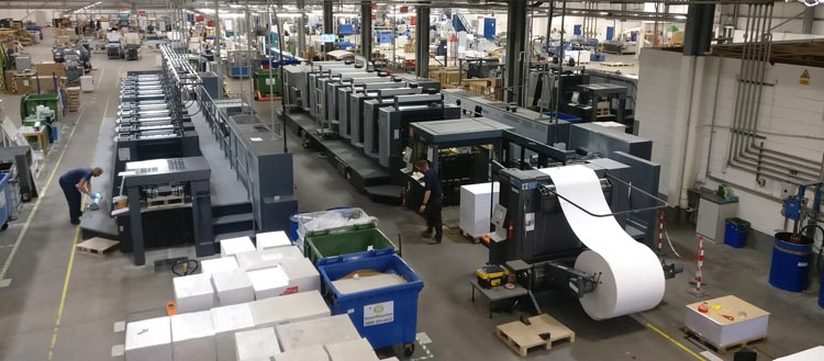 Meet the Machines that Produce Your Print: An Overview of our Factory