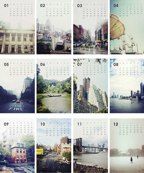 Calendar Photography