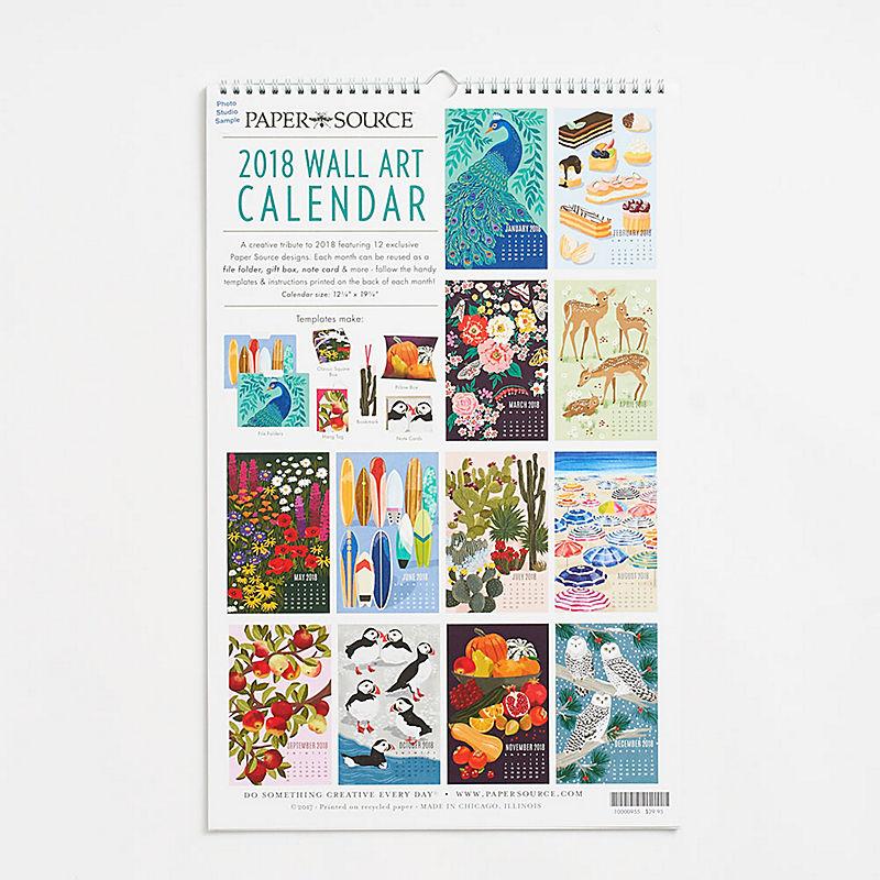 Calendar Wall Art