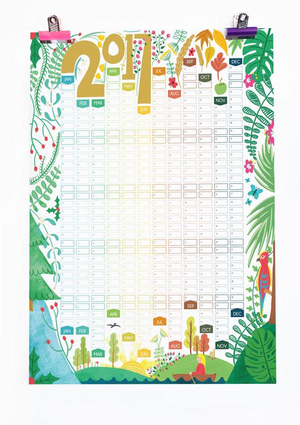 Calendar Jungle