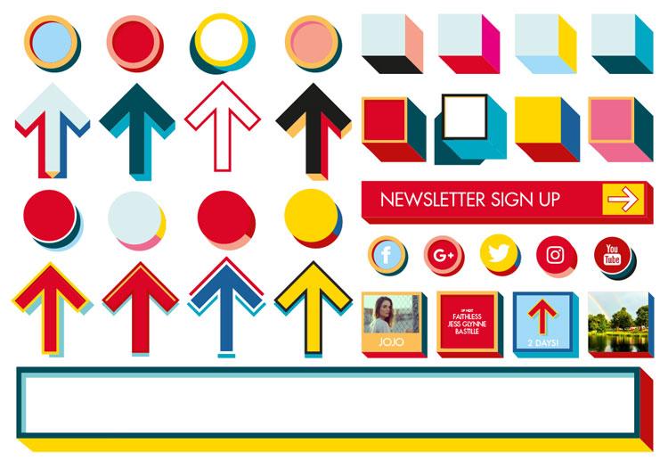 Rebrand V Fest Graphics