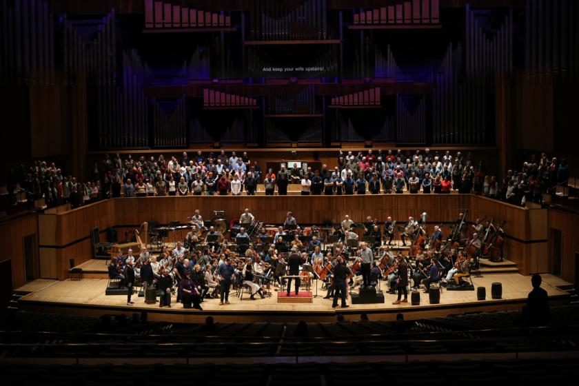 Peter Grimes i Royal Festival Hall