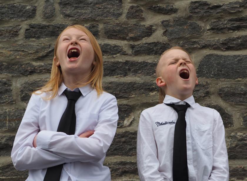 Syngende Gutter