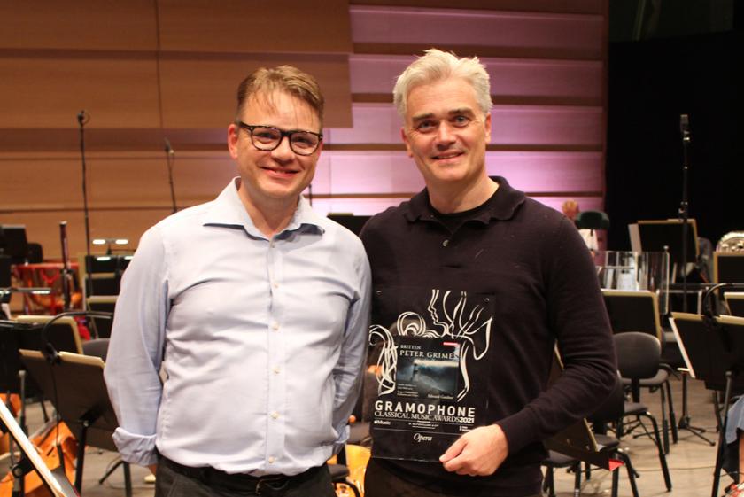 Winner of Gramophone classical award for opera 2021