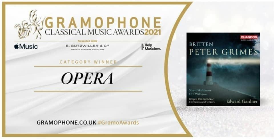 Vinner kategori Opera - Peter Grimes