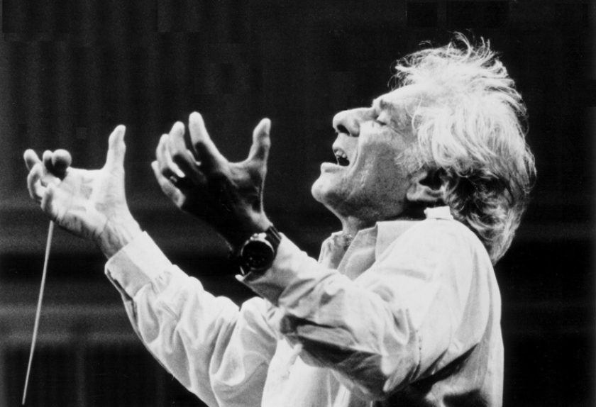 Leonard Bernstein By Paul De Hueck Courtesy Of The Leonard Bernstein Office