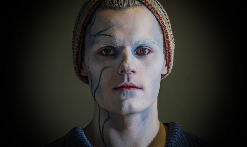 Ghost seaman - from makeup rehearsals