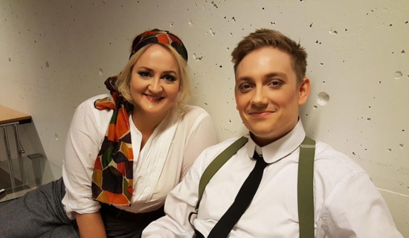 Elisabeth Teige og Bror Magnus Tødenes