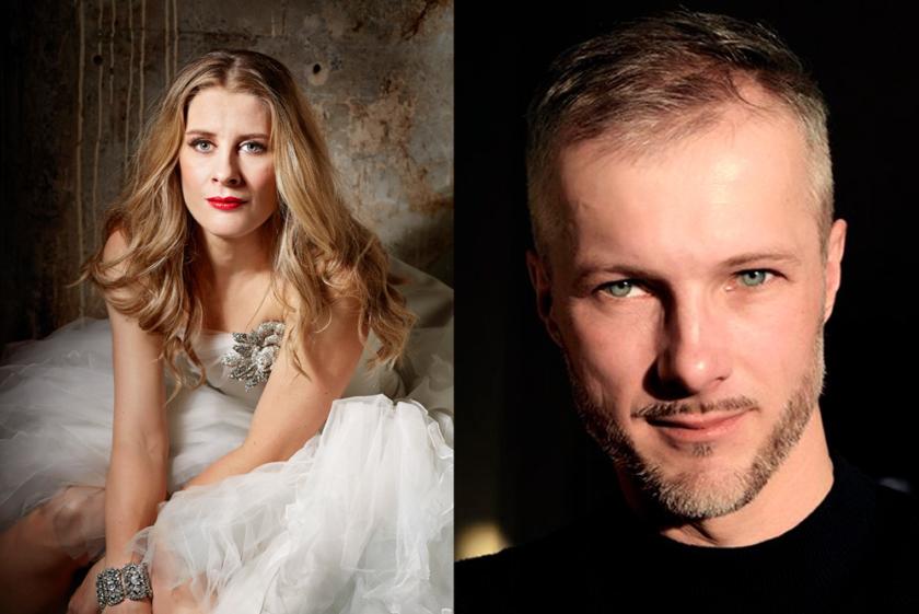 Malin Bystrom og Ladislav Elgr