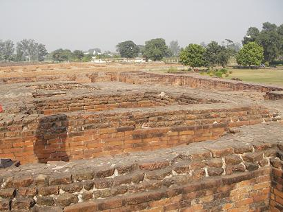 Ruins of Nalanda University. Photo by Jani Zweygberg.