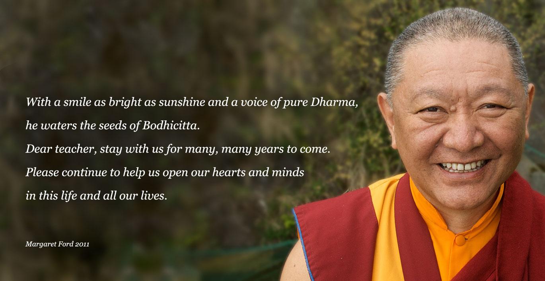 Happy Birthday Rinpoche Bodhicharya