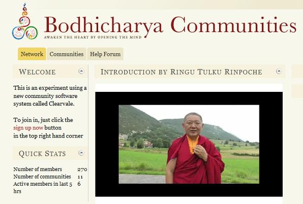 Bodhicharya Communities