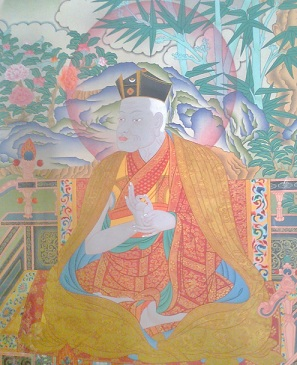 Photo detail of thangka painting by RD Salga