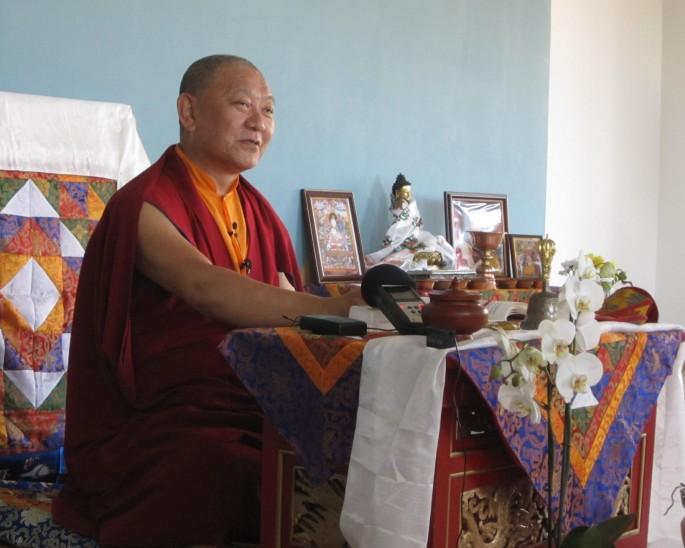 Ringu Tulku Rinpoche, August 2012. Photo: Kirsi Heikkilä-Tammi.