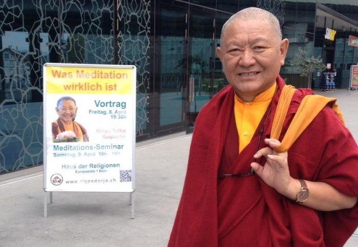 Rinpoche in Bern, Switzerland