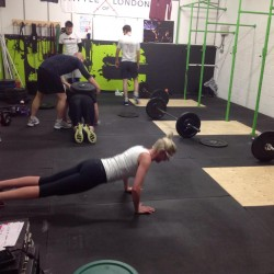 Sessions in progress at CrossFit ISC