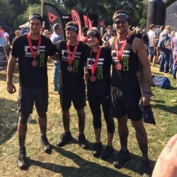 Competing in spartan races is always good fun.