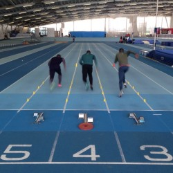 Working with elite sprinters in the new Olympic cycle, Lee Valley, UK