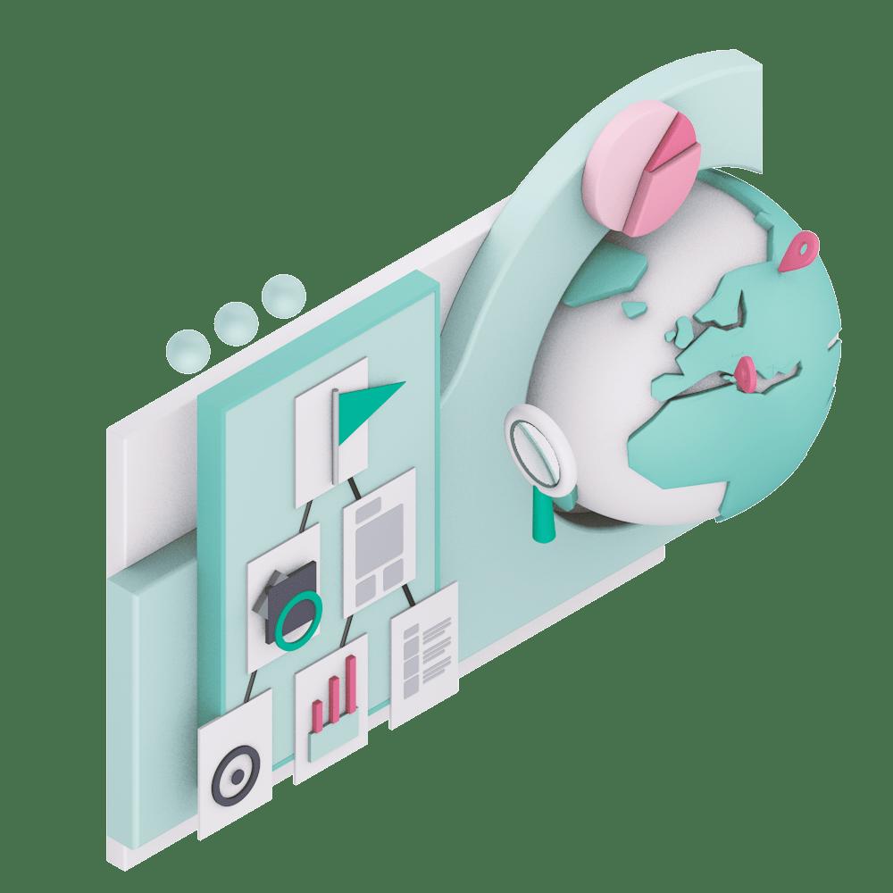 ricerca studio e disegno concept