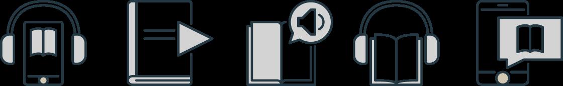 Audiobooks Icons