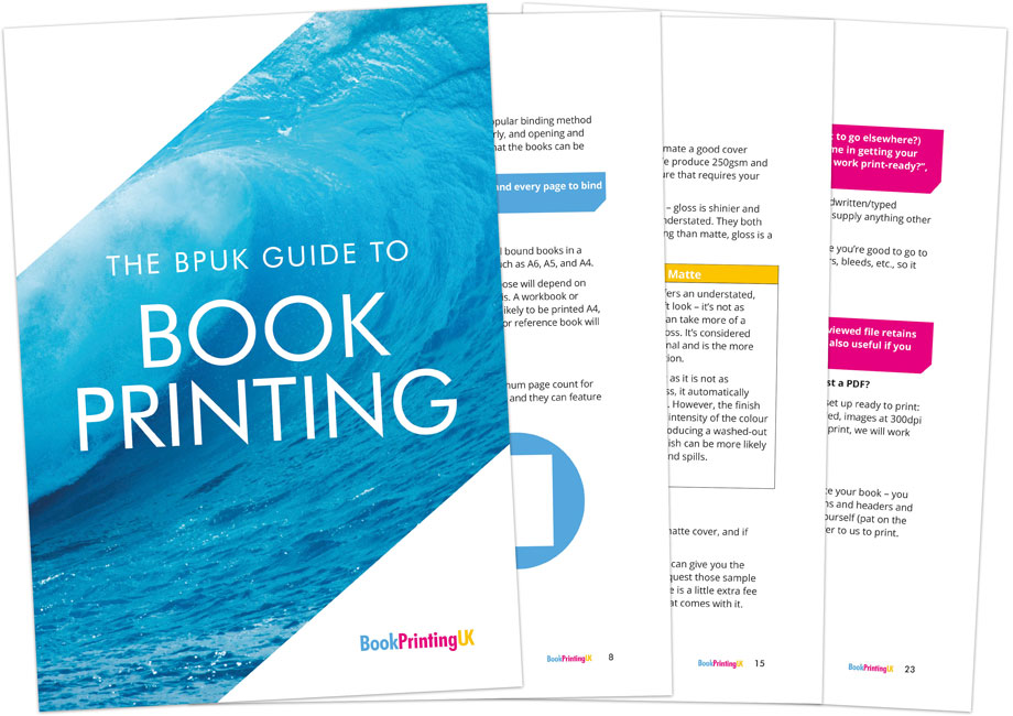 Guide to book printing