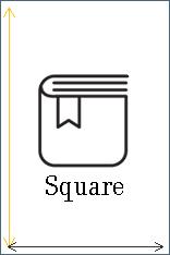 Square Book Size