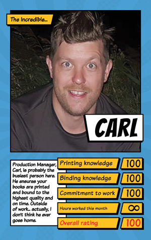 Book Printing UK Carl