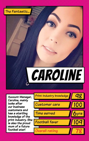 Book Printing UK Caroline