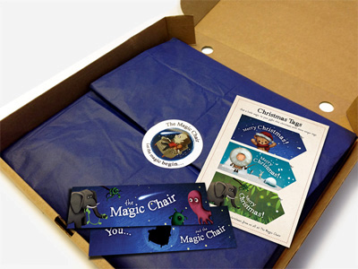 The Magic Chair Book Christmas Tags