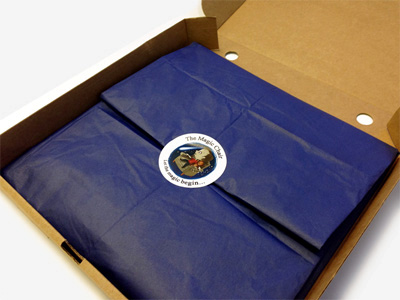 The Magic Chair Book Wrapped