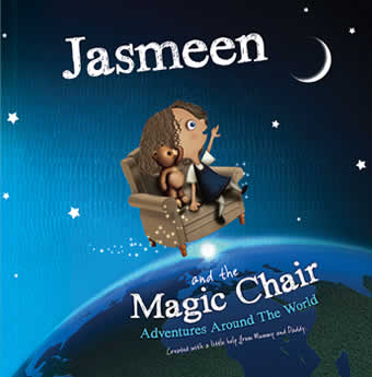 Around the World Magic Chair Book