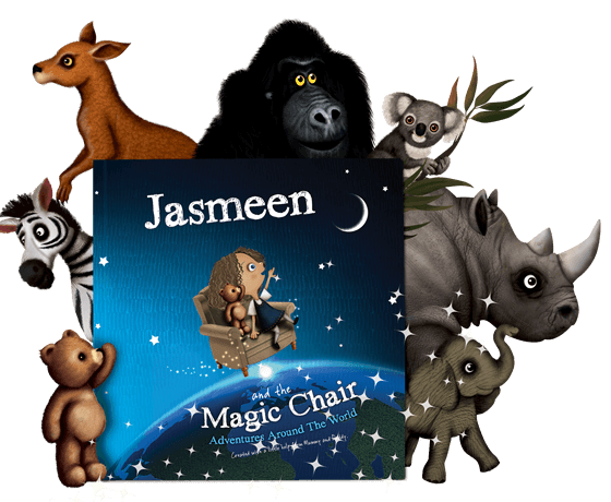 The Magic Chair Personalised Children's Book