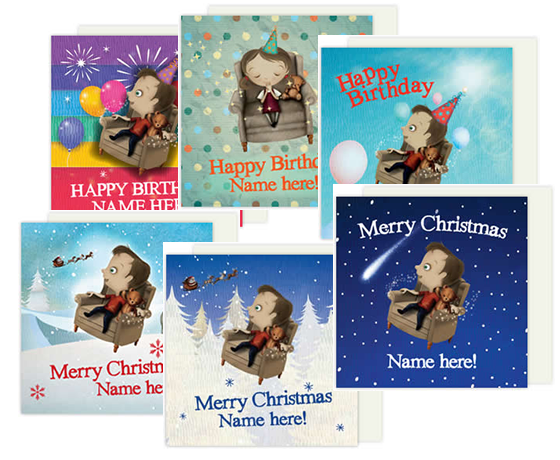 The Magic Chair Personalised Cards