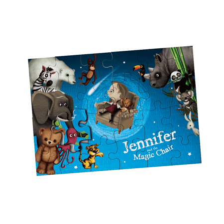 Personalised Puzzle - Name and character