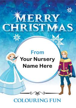Christmas Colouring Book - Fairytale