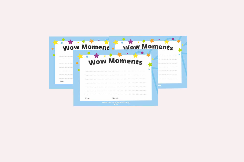 Wow Moment Sticky Notes