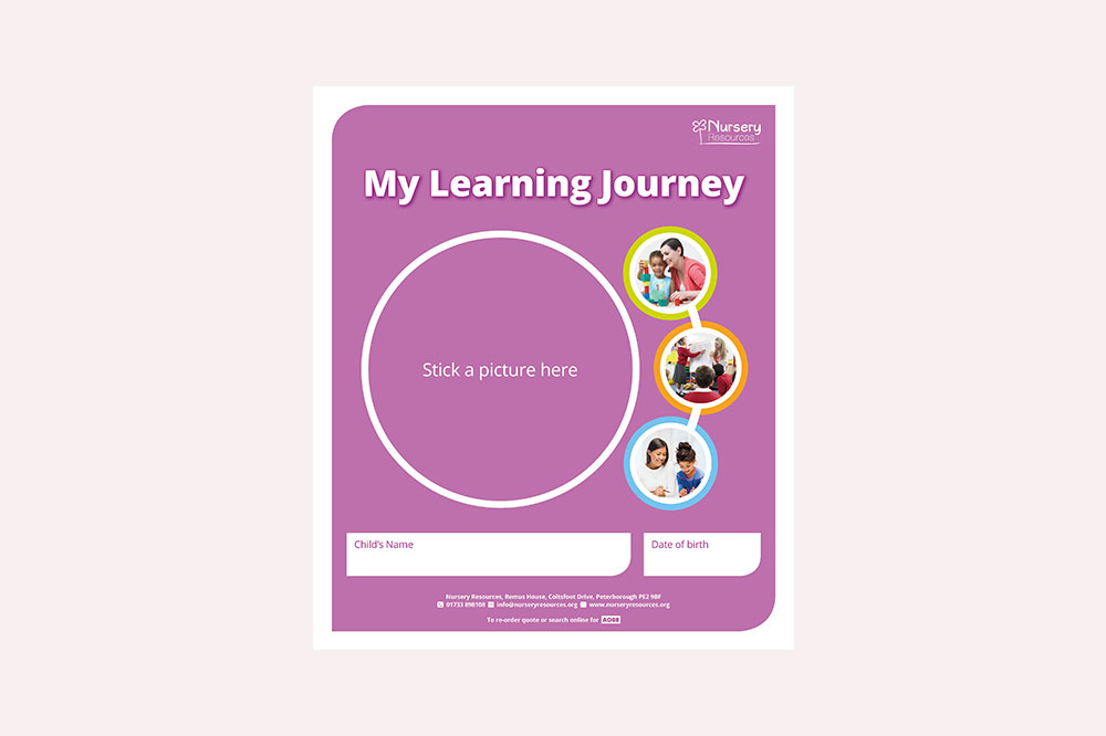My Learning Journey - with Tracker in Ring Binder