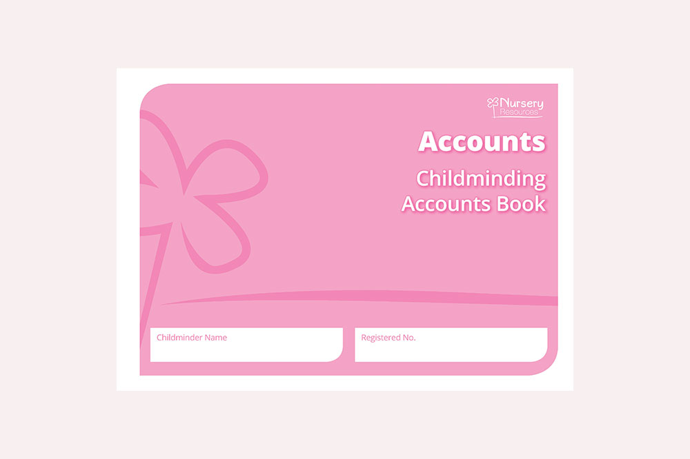 Childminding Accounts Book