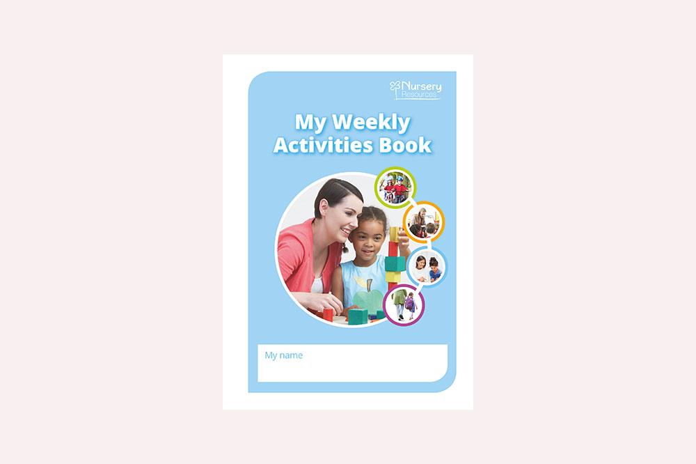 My Weekly Activities Book