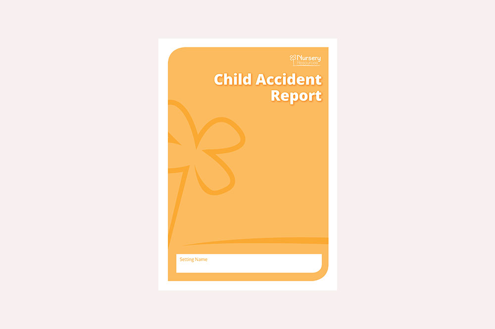 Child Accident Report Forms (Carbon Copy)