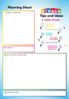 Pupil Worksheet / Entry Form