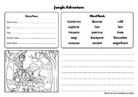 Jungle Entry Forms