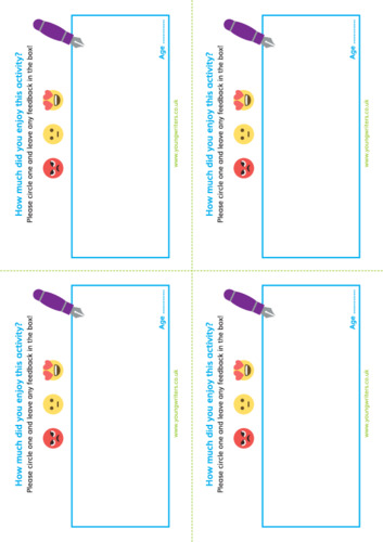 Pupil Feedback Forms Thumbnail