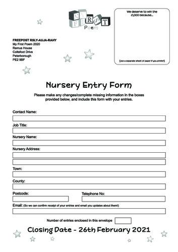 Nursery School Entry Thumbnail