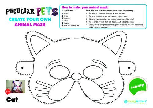 Animal Mask Templates Thumbnail