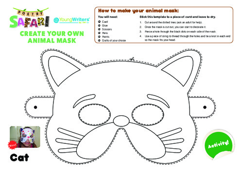 Animal Mask Templates Thumbnail