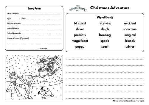 Christmas Story Template Thumbnail