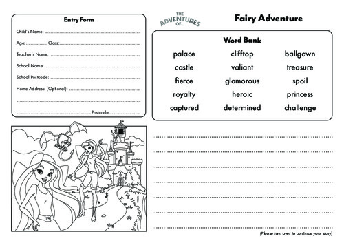 Fairytale Story Template Thumbnail